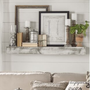 Gray+Solid+Wood+Handmade+Rustic+Style+Wall+Shelf