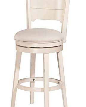 Hillsdale Furniture Clarion Stool Sea White Wood Finish 0 289x360