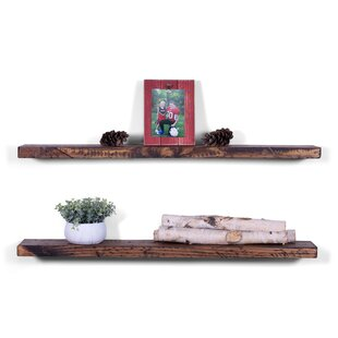 Janda+Rugged+Distressed+Pine+Floating+Shelf+Set+of+2