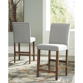 Jasinski Upholstered 25 Bar Stool