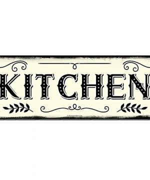 Kitchen 6 X 16 Inch Metal Farmhouse Sign Rustic Vintage Wall Decor For Home Restaurant Cafe Diner Bakery And Coffee Shop Farm Theme Gifts For Farmers Ranchers Housewarming RK3008 6x16 0 300x360