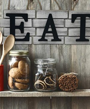 Kitchen Decor Wall Art Country Decor Rustic Farmhouse Decor For The Home EAT Sign Decorative Wall Art 0 0 300x360