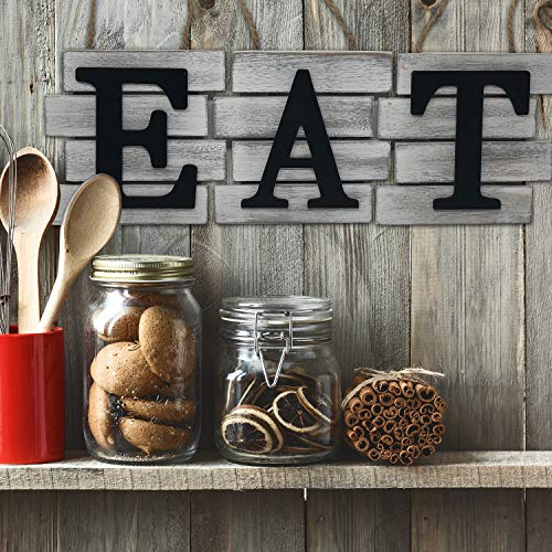 Kitchen Decor Wall Art Country Decor Rustic Farmhouse Decor For The Home EAT Sign Decorative Wall Art 0 0