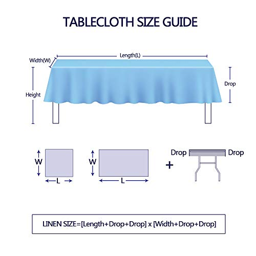 Lahome Embroidery Stripe Tassel Tablecloth Heavy Weight Cotton Linen Washable Table Cover For Kitchen Dining Room Restaurant Party Decoration Linen Rectangle 55 X 70 0 5