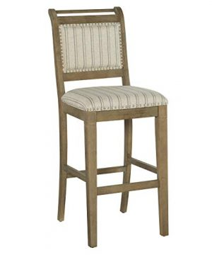 Linon Home Decor Products Newton Grey Bar Stool Gray Wash 0 300x360