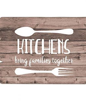 Mode Home Farmhouse Kitchen Wall Decor Wood Art Sign Signs Kitchens Bring Goals