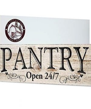 MY VINTAGE FINDS Pantry Sign Rustic Kitchen Decor Made In America Farmhouse Wall Decor 0 300x360