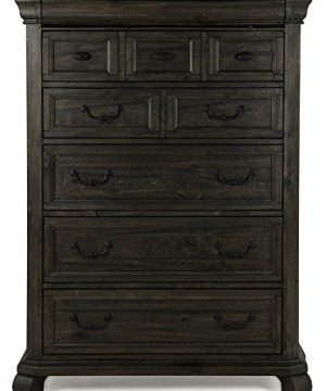Magnussen Furniture Bellamy 6 Drawer Chest In Peppercorn Finish 0 300x360