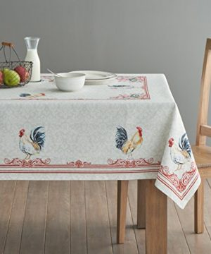 Maison D Hermine Campagne 100 Cotton Tablecloth 54 Inch By 72 Inch 0 0 300x360