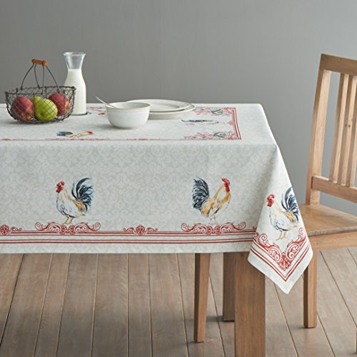 Maison D Hermine Campagne 100 Cotton Tablecloth 54 Inch By 72 Inch 0 0