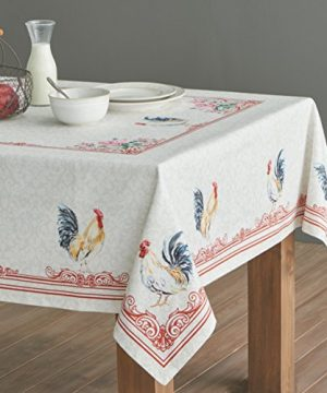 Maison D Hermine Campagne 100 Cotton Tablecloth 54 Inch By 72 Inch 0 1 300x360