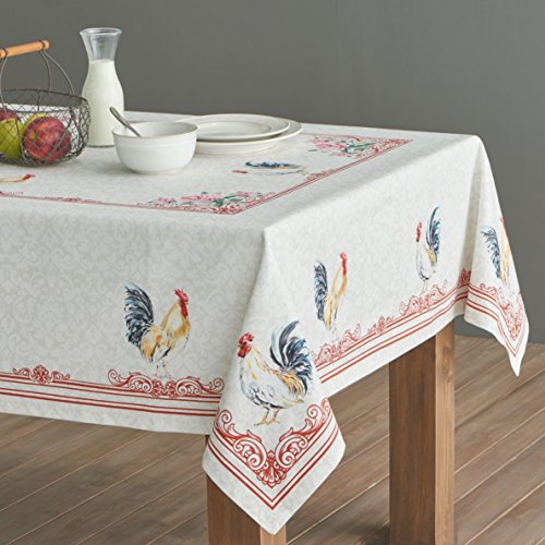 Maison D Hermine Campagne 100 Cotton Tablecloth 54 Inch By 72 Inch 0 1