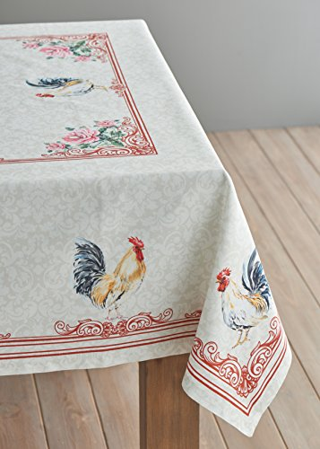 Maison D Hermine Campagne 100 Cotton Tablecloth 54 Inch By 72 Inch 0 2