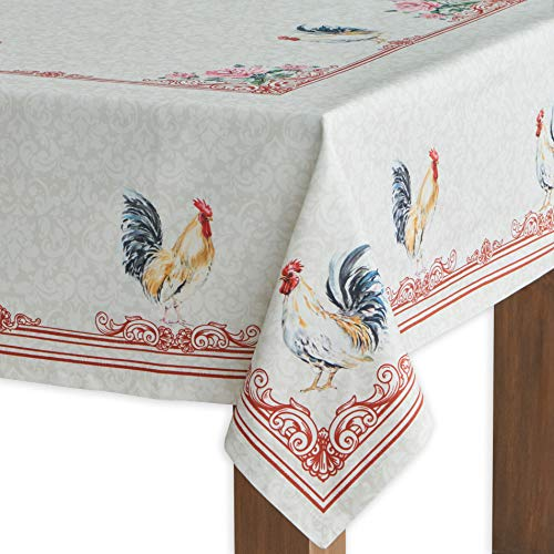 Maison D Hermine Campagne 100 Cotton Tablecloth 54 Inch By 72 Inch 0