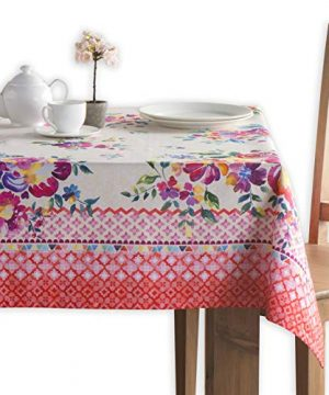 Maison D Hermine Rose Garden 100 Cotton Tablecloth 60 Inch By 108 Inch 0 300x360