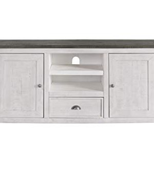Martin Svensson Home Monterey TV Stand White With Grey Top 0 0 300x333
