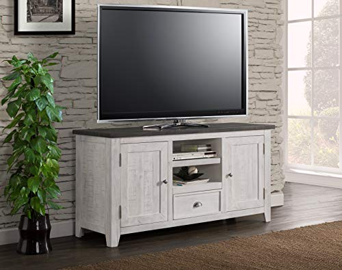 Martin Svensson Home Monterey TV Stand White With Grey Top 0 1