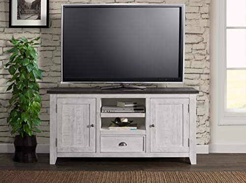 Martin Svensson Home Monterey TV Stand White With Grey Top 0 2