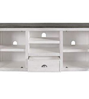 Martin Svensson Home Monterey TV Stand White With Grey Top 0 3 300x333