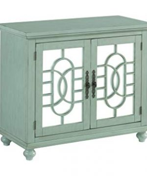 Martin Svensson Home Orleans Small Spaces TV Stand 2 Door Mint 0 300x360