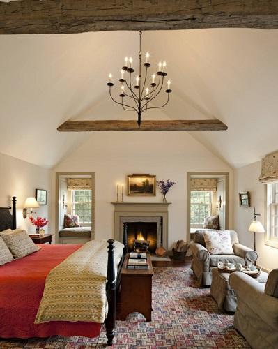 Master Bedroom by Haver & Skolnick LLC Architects