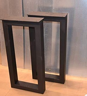 Metal Table Legs Rectangular Style Any Size And Color 0 300x333