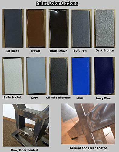 Metal Table Legs Rectangular Style Any Size And Color 0 6