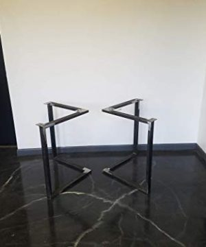 Metal Table Legs Triangular Style Any Size And Color 0 0 300x360