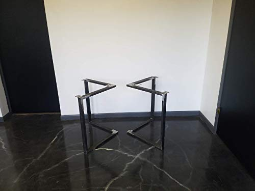 Metal Table Legs Triangular Style Any Size And Color 0 0