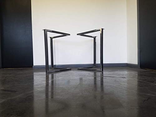Metal Table Legs Triangular Style Any Size And Color 0 1