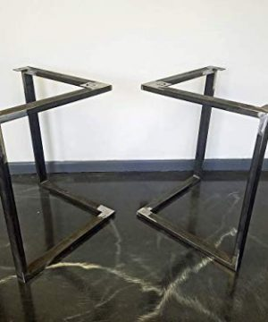 Metal Table Legs Triangular Style Any Size And Color 0 2 300x360