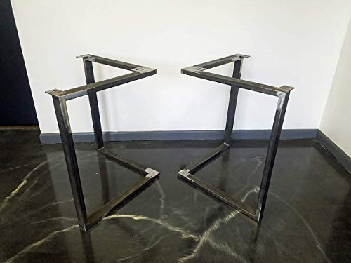 Metal Table Legs Triangular Style Any Size And Color 0 2