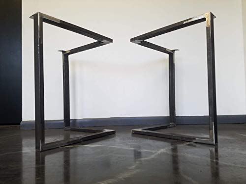 Metal Table Legs Triangular Style Any Size And Color 0