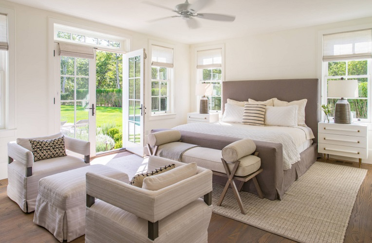 Modern Farmhouse Bedroom by Martha's Vineyard Interior Design