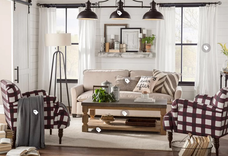 Modern Farmhouse Living Room Decorations