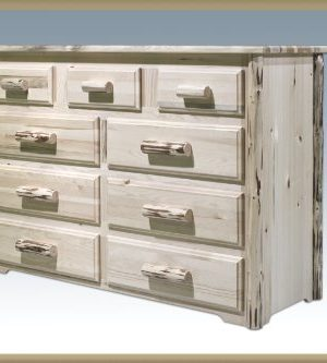 Montana Woodworks Collection 9 Drawer Dresser Ready To Finish 0 300x333