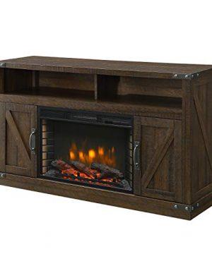Muskoka 370 05 200 Electric Fireplace Rustic Brown 0 300x360