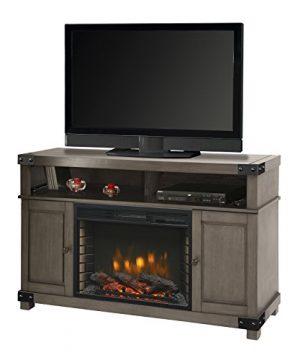 Muskoka Hudson 53 Media Fireplace Dark Weathered Grey 0 300x360