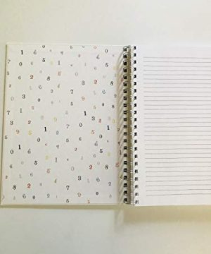NOTES Rae Dunn Large Hard Cover Spiral Notebook 0 0 300x360