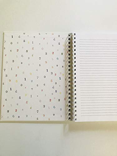 NOTES Rae Dunn Large Hard Cover Spiral Notebook 0 0