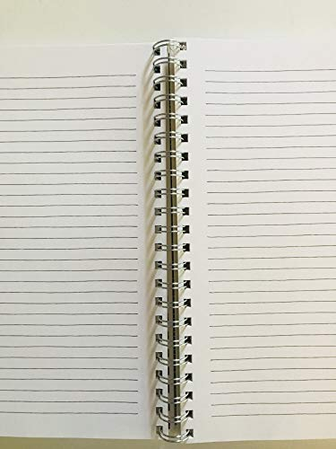 NOTES Rae Dunn Large Hard Cover Spiral Notebook 0 1
