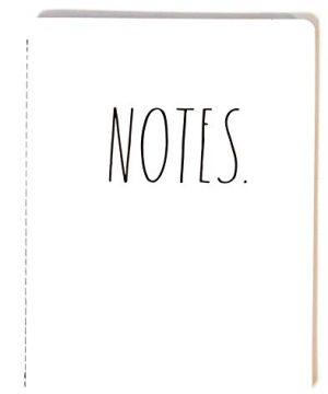 Notes Notebook Rae Dunn 0 300x360