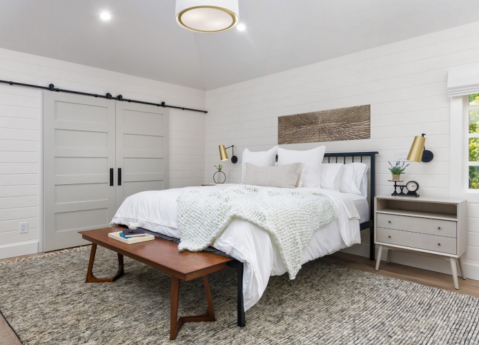 Orchard - Modern Farmhouse Master Bedroom by In The Deets