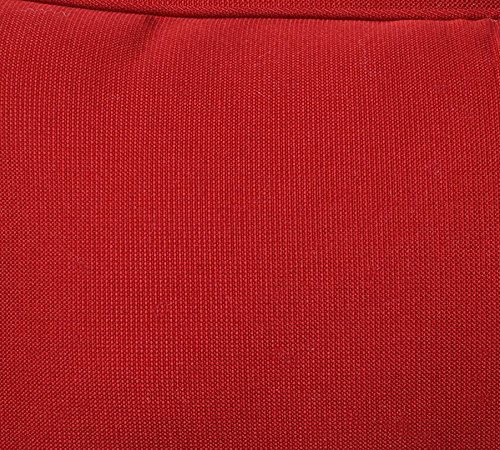 Pillow Perfect Decorative Red Solid Toss Pillows Rectangle 2 Pack 0 1