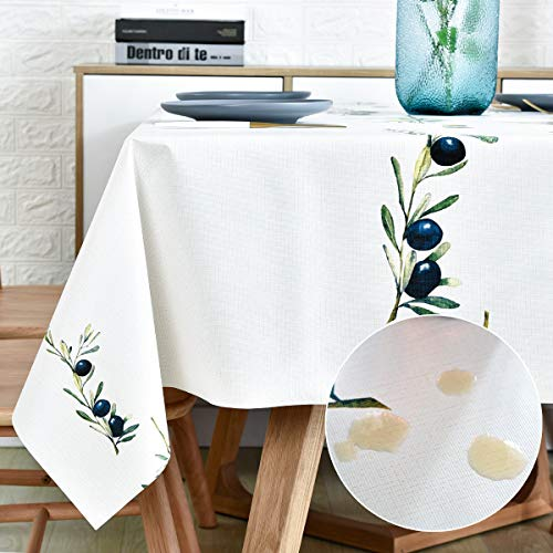 Plastic Tablecloth Wipeable Small