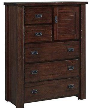 Progressive Furniture Trestle Wood Chest 40 X 18 X 52 H 0 300x360