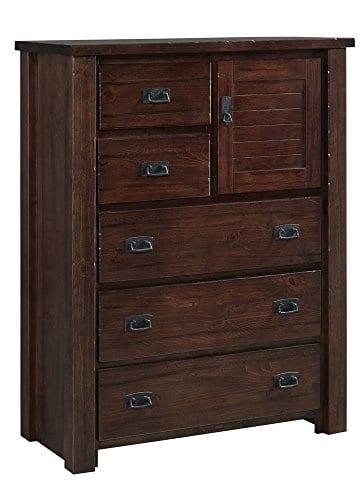 Progressive Furniture Trestle Wood Chest 40 X 18 X 52 H 0