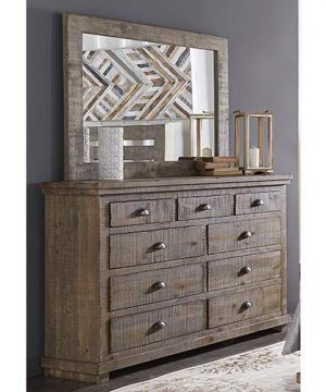 Progressive Furniture Willow Drawer Dresser Weathered Gray 0 300x360