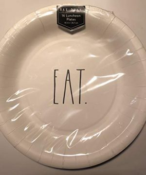 Rae Dunn 16 Eat Luncheon Coated Plates 105 Party Event Holiday 0 300x360