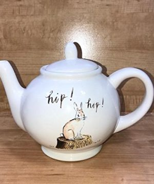 Rae Dunn Artisan Collection By Magenta Easter Hip Hop Bunny Teapot 0 300x360